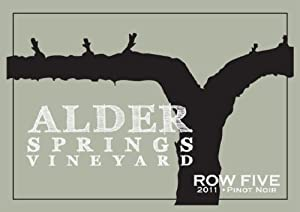 2011 Alder Springs Row Five Pinot Noir 750 mL