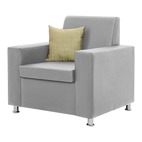 Comfort Couch Premium Florence Single Seater Sofa (Grey)