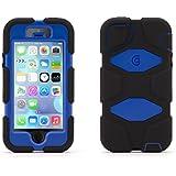 Griffin Survivor All-Terrain Coque pour iPhone 5 et 5s - Bleu/Noir