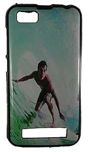 XUWAP Designer Silicone Case Soft Printed Cover For Intex Aqua Play