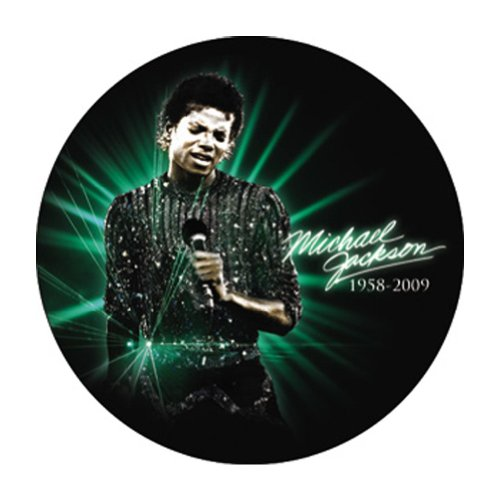 Michael Jackson Singing Pin Button
