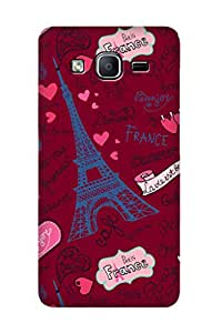 ZAPCASE Printed Back Case for SAMSUNG GALAXY On7 / SAMSUNG GALAXY On7 Pro