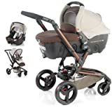 Jane Rider + Transporter + Strata Travel System - Boheme Brown/Cream