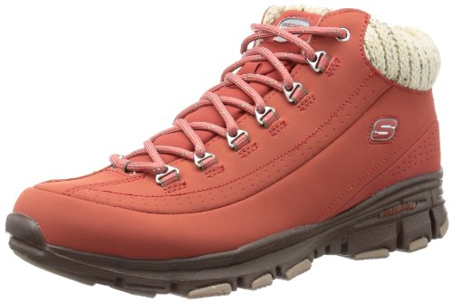 Skechers Bravos Snow Melt Trainers Womens Brown Braun (RUST) Size: 4 (37 EU)