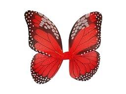 WeGlow International Monarch Butterfly Wings, Red