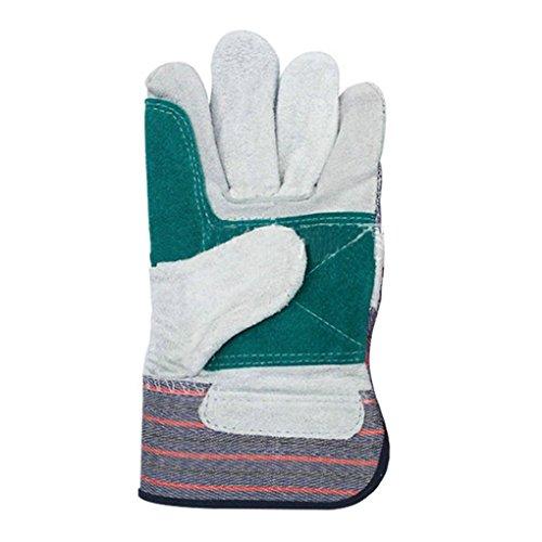 Vollter Riutilizzabili isolati guanti da lavoro in pelle bovina Grip giardinaggio Buthcer Guanti