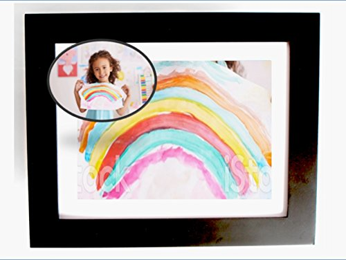 Say Bye Bye to Magnets Displaying Kids Art in the Kitchen! Easy Change Picture Frame, 13.5 x 11 Kids Artwork Frames Proudly Transform Any Living Room into a Child Art Display, Hangs Like a Shadow Box (Picture Hanging Magnets compare prices)