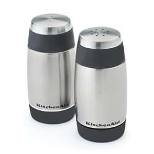 Kitchenaid Salt And Pepper Shakers Black