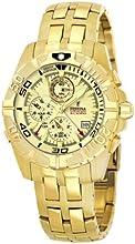 Comprar Festina Chronobike F16119/4 - Reloj cronógrafo de cuarzo para hombre, correa de acero inoxidable color dorado (alarma)