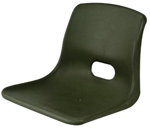 Shoreline Marine Jon Boat Seat - Seat Stckbl W/O Swivel Grn