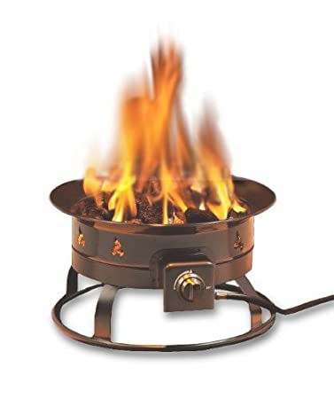 This Outdoor Fire Pit Boasts A Compact Design And Is Propane Fueled To  Allow It To Be Used For On The Go Burning Needs. It Produces A Smokeless  Flame And ...
