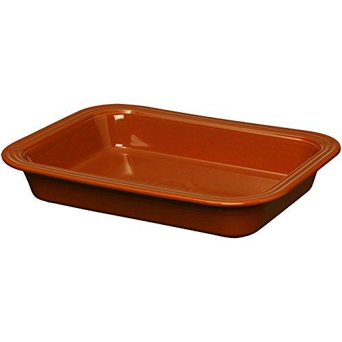 Fiestaware Lasagna Pan 9 x 13 - Paprika Red