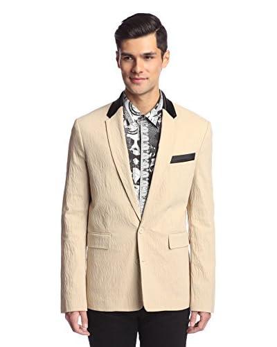 Versace Jeans Men's Tonal Animal Jacquard Jacket