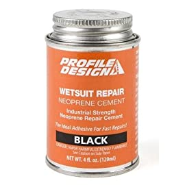Profile Design 2013 Wetsuit Repair Neoprene Cement - 4 oz Can - CLWS03
