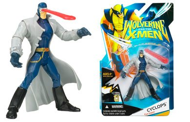 X-Men Wolverine Animated Action Figure Cyclops