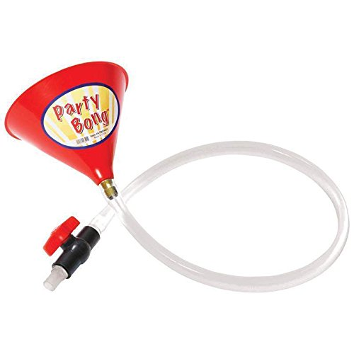 Party Beer Bong Large Single Funnel Valve 40