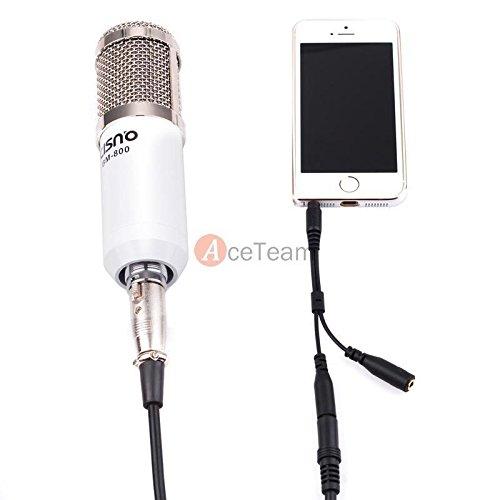 Audio-Condenser-Microphone-Mic-Studio-Recording-WShock-Mount-for-iphoneipad