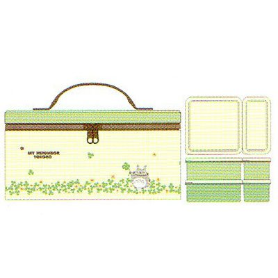 [Totoro] insulated bag with holiday lunch KCPC4 ★ clover ★ ☆ kitchen tools ☆