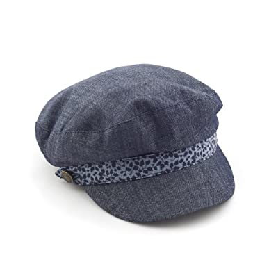 Breton Cap in Denim