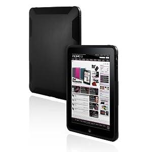 Incipio iPad 1 SILICRYLIC Hard Shell Case with Silicone Core - Black/Black