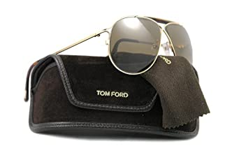 81de7abdb881 Tom Ford Magnus FT0193 Sunglasses 28J GoldTortoise (Brown Lens) 61mm  Clothing