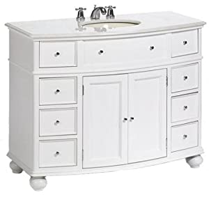 Hampton Bay Curved Bath Vanity 35 Hx45 W