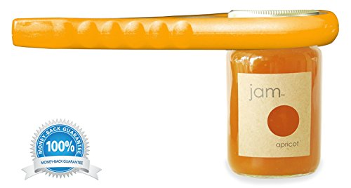 Premium Quality Jar Opener Get Lids Off Easily Jar Openers for Seniors Multiple Size Grip, Orange (Jar Opener Arthritis compare prices)