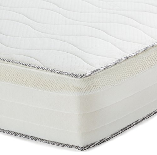 AmazonBasics-Extra-Komfort-Federkernmatratze-mit-7-Zonen-140-x-200-cm