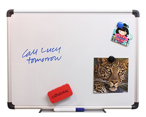 cathedral-whiteboard-drywipe-magnetic-with-pen-tray-and-aluminium-trim-30x45cm