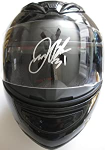 James Buescher, Nascar, Driver, Signed, Autographed, Full Size Helmet, a COA and the... by HELMET
