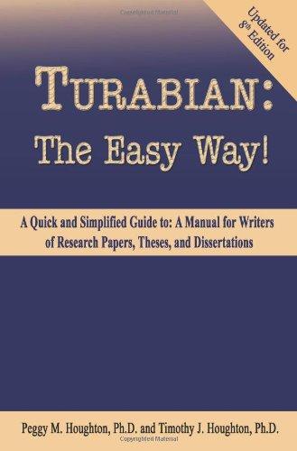 turabian style dissertation writing