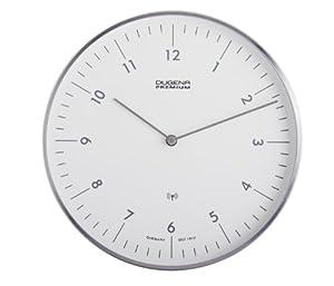 Dugena - Reloj analógico de pared plateado por Dugena