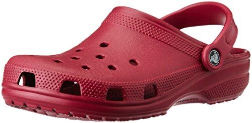 crocs Classic Pmgr, Zoccoli Unisex - Adulto, Rosso (Pomegranate 6D1), 37/38 EU