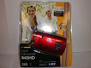Vivitar DVR Digital Camcorder 945HD - Red