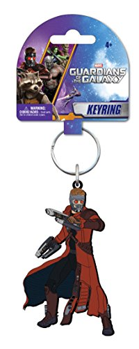 Marvel Star-Lord Soft Touch PVC Key Ring - 1
