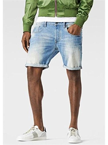 G-STAR 81612E 6738 424 DNM LIGHT AGED BERMUDA E SHORTS Uomo LIGHT AGED 30