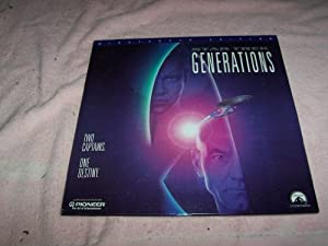 Star Trek: Generations (Laserdisc)