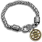 Boston Bruins Bracelet, Hockey Bracelet, Bruins Jewelry, NHL Bracelet & Perfect Hockey Fan Gift