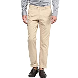 Byford by Pantaloons Men's Trousers 205000005549704_Light Khaki_32