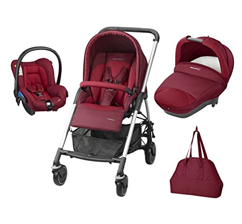Bébé Confort 19478991 Trio Streety Next Passeggino, Robin Red