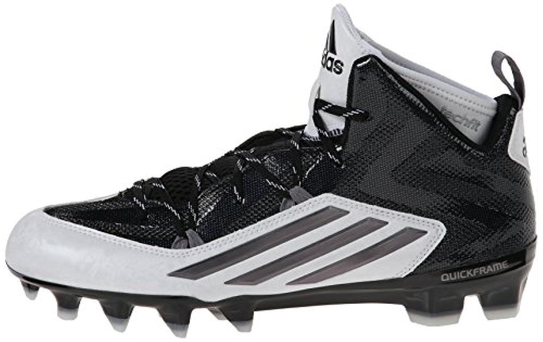 new styles 2b544 f065f ... adidas Performance Mens Crazyquick 2.0 Mid Football Cleat, BlackTitanium,  9 M US