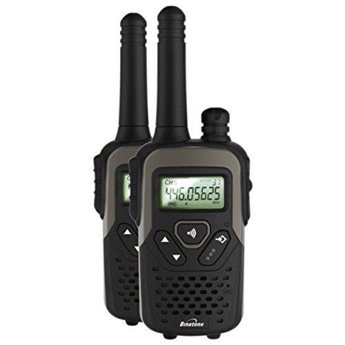 Binatone Action 1100 Twin 2 Way Radio - Black