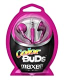 Maxell 190540 M2 Color Ear Buds - Pink