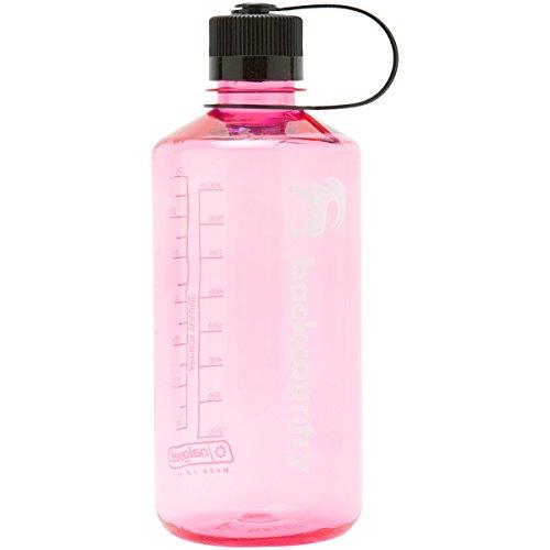 Nalgene Narrow Mouth Tritan Bottle - 32Oz Pretty Pink, One Size front-547456
