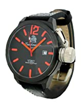Tauchmeister T0179 XL Automatic Black Military Stealth Dive Watch