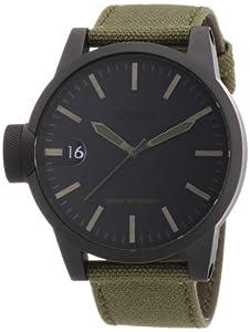 Nixon Herren-Armbanduhr Analog Textil A1271042-00