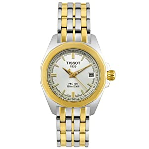 Tissot Women's T22228131 T-Sport PRC 100 Two-Tone Watch