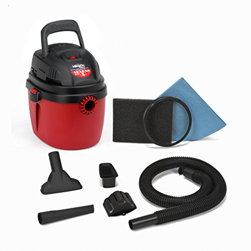 Shop-Vac-2030100-15-Gallon-20-Peak-HP-Wet-Dry-Vacuum-Small-RedBlack