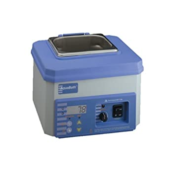 Thermo Scientific ELED 18002AQ Lab-Line AquaBath Digital Laboratory Water Bath, 5L Capacity, 120V, 100 Degree C