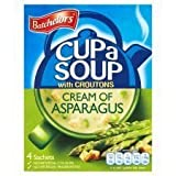 Batchelors Cup A Soup with Croutons Cream of Asparagus 4S 123G